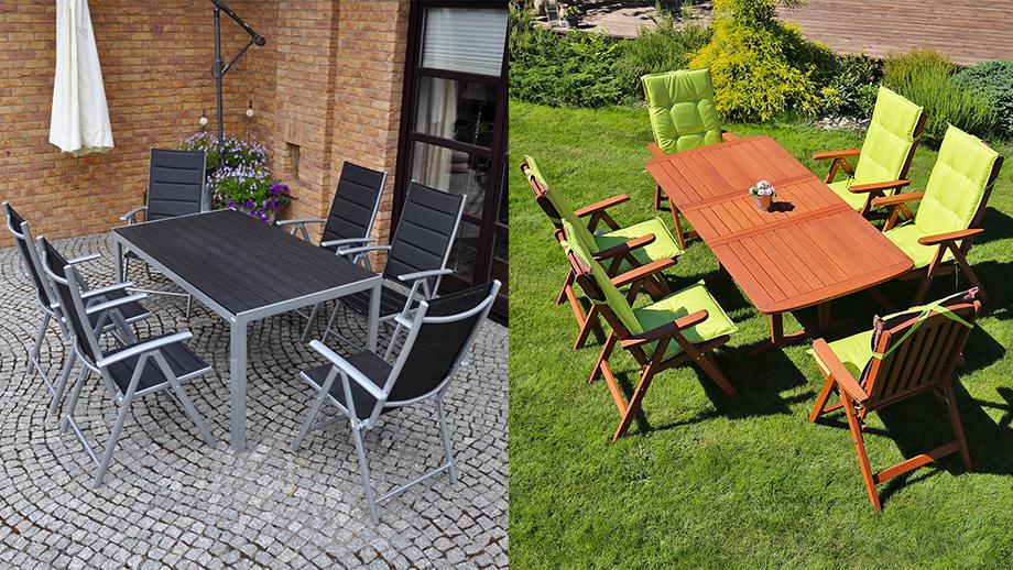 Jakie meble ogrodowe wybrać? Drewniane czy aluminiowe?