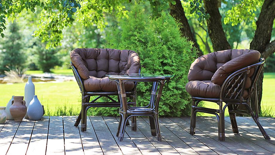 Jak konserwować ogrodowe meble rattanowe?